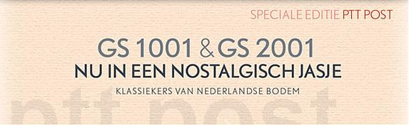 SPECIALE EDITIE GS 1001 - GS 2001